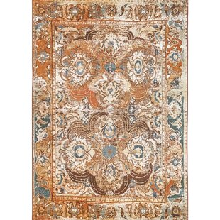 Michaella Kashan Amber Indoor/Outdoor Area Rug