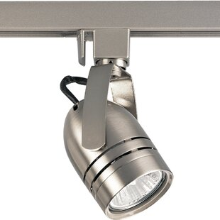 Progress Lighting Illuma-Flex 1-Light 120V Line Voltage Adjustable Slotted Back Cylinder Track Head