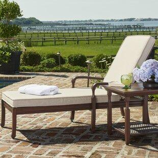 Paula Deen Home River House Chaise Lounge with Cushion