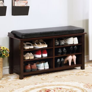 Bitteridge Faux Leather Storage Bench