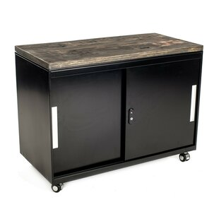 2 Door Metal Accent Cabinet by Urban 9-5