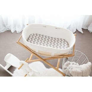 Harriet Bee Sneed Bassinet Chevron Waterp..