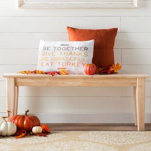 Lynn Wooden Entryway Bench by ..
