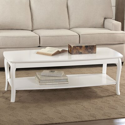 Au Coffee Table Color: White by Darby Home Co