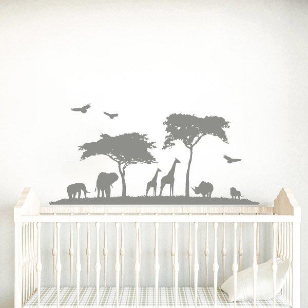 decal house safari nursery wall decal   wayfair.ca