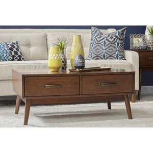 Ripton Mid-Century Modern Coffee Table by George Oliver