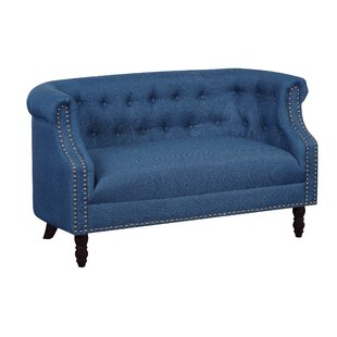 Acworth Chesterfield Loveseat by Charlton Home
