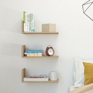 Shelfie 3 Piece Floating Shelf Set By Symple Stuff