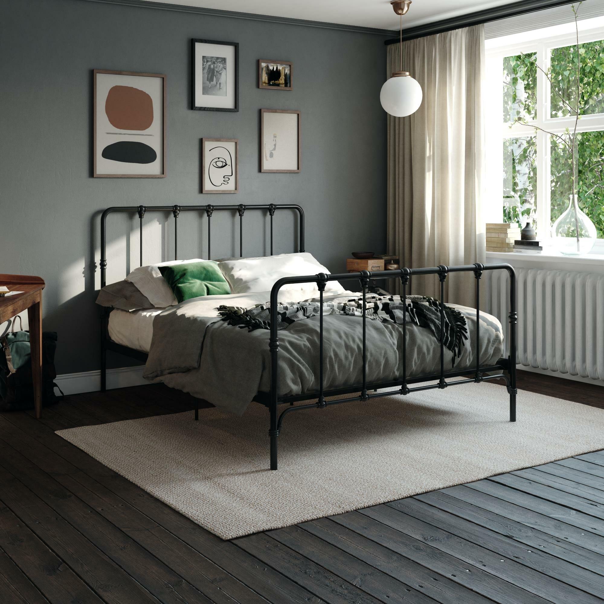 Laurel Foundry Modern Farmhouse Viviana Farmhouse Metal Platform Bed Reviews Wayfair