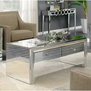 Badgley Coffee Table With Storage By Canora Grey