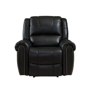 Amax Houston Leather Recliner