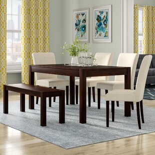 Branch 6 Piece Dining Set by Latitude Run Coupon