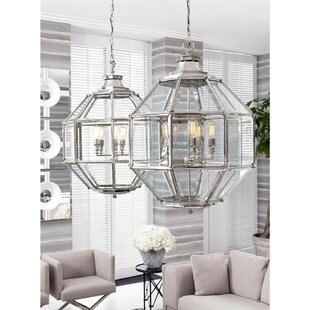 Owen 5-Light Lantern Pendant by Eichholtz