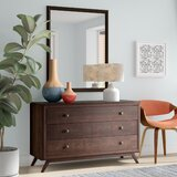 Arabella 3 Drawer Dresser with Mirror by Foundstone™