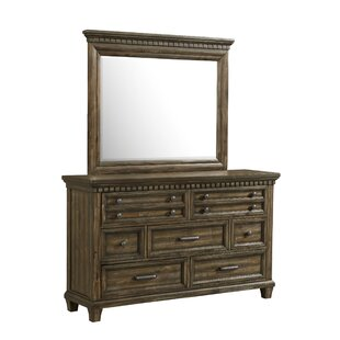 Darby Home Co Dileo 7 Drawer Dresser with Mirror