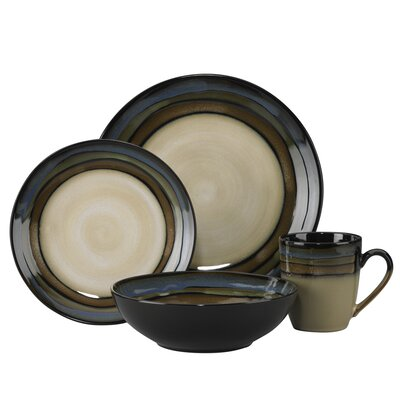 Pfaltzgraff Cambria Everyday 16 Piece Dinnerware Set, Service for 4 ...