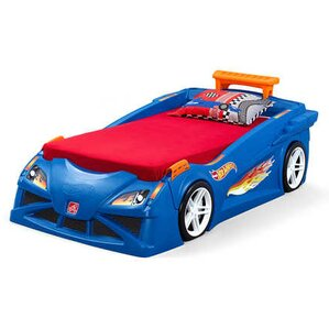 Hot Wheels? Race Twin Car Bed by Step2