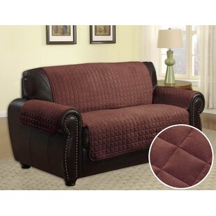 Quilted Box Cushion Sofa Slipcover