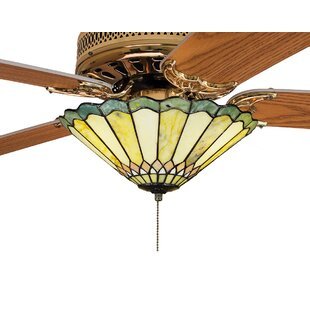 Comparison Weissman Carousel 3-Light Bowl Ceiling Fan Light By Astoria Grand