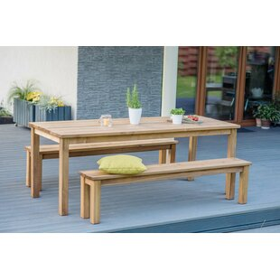 Krista 6 Seater Dining Set By Sol 72 Outdoor