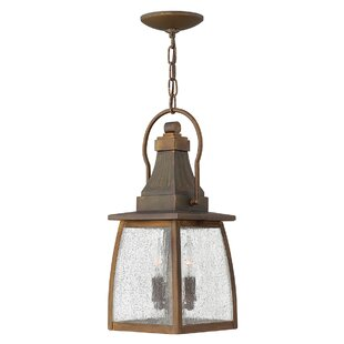 Encina 2 Light Hanging Lantern By Astoria Grand