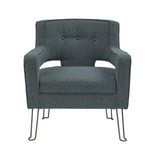 Edlohman Hairpin Leg Armchair by Brayden Studio