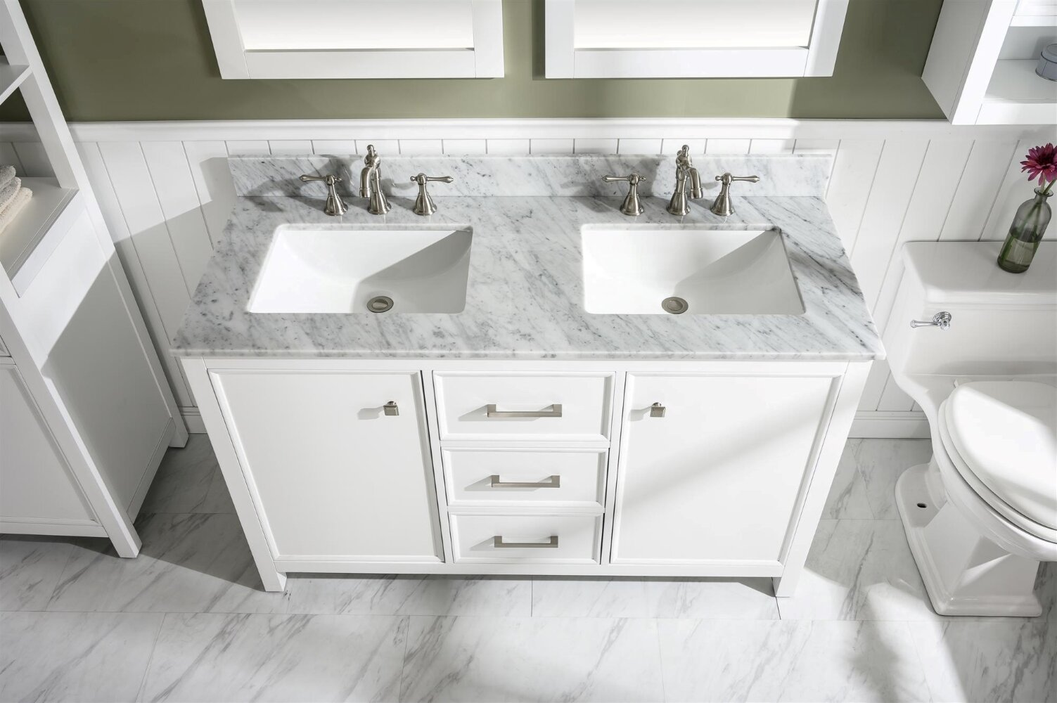 Breakwater Bay Malmberg 54 Double Bathroom Vanity Set Reviews Wayfair