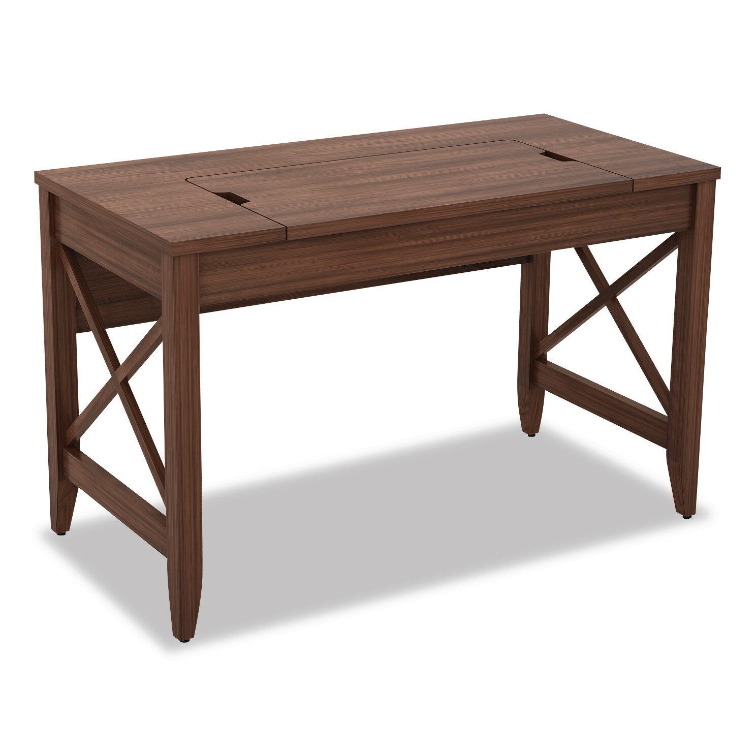 August Grove Derrion Height Adjustable Desk Wayfair