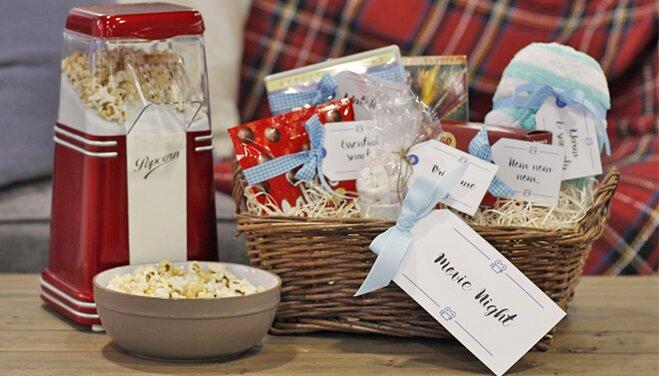Diy Hampers Movie Night Gift Tags Wayfaircouk