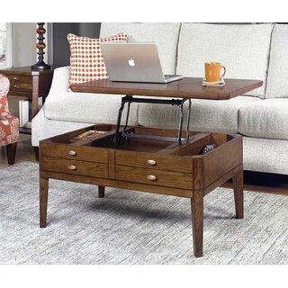 Weybossett Lift Top Coffee Table by Alcott Hill SKU:DA241641 Guide