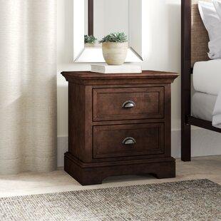 Greyleigh Appleby 2 Drawer Wood Nightstand