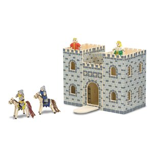 Fold and Go Mini Castle by Melissa & Doug