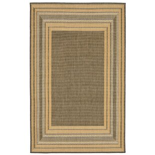 Clatterbuck Etched Gray Indoor/Outdoor Area Rug