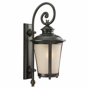 Price Check Maria 1-Light Outdoor Wall Lantern By Fleur De Lis Living