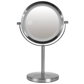 Orren Ellis Silex Modern And Comtemporary Lighted Magnifying Makeup Mirror Reviews Wayfair