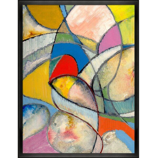Tori Home Artisbe An Abstract Painting By Clive Watts Wrapped Canvas Painting Print Wayfair