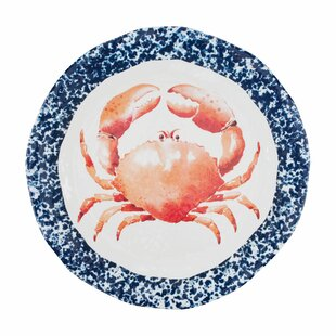 Lakin Crab Melamine Platter
