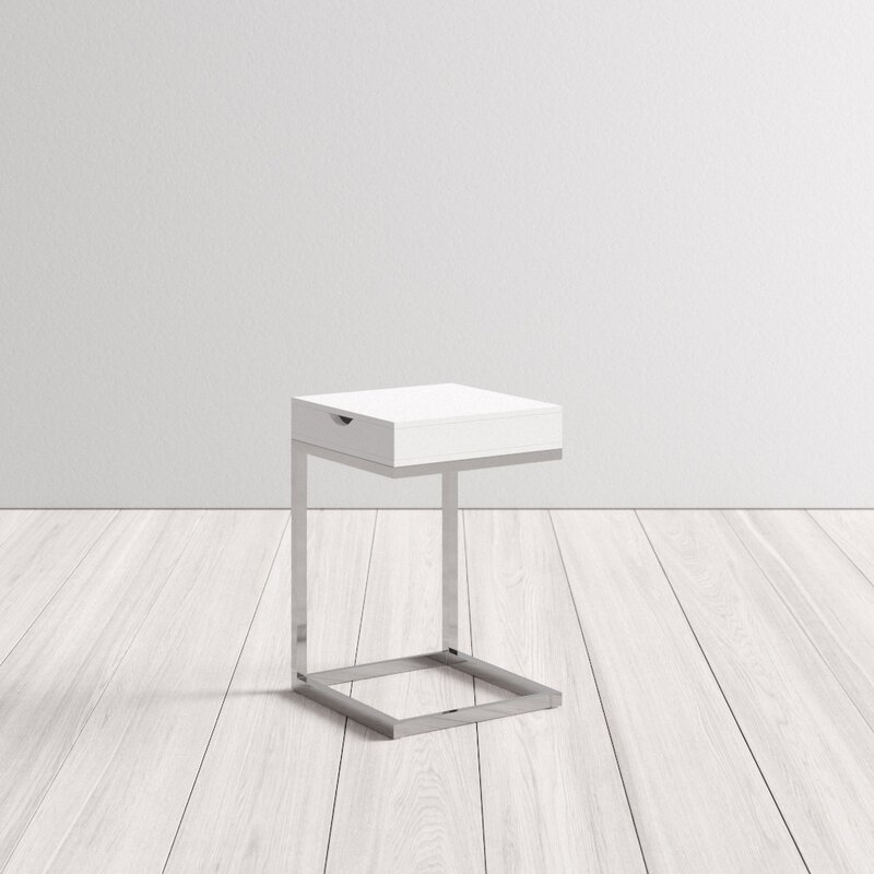 Tokyo End Table With Storage Reviews Allmodern