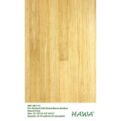Solid Bamboo Flooring Hawa Bamboo Finish: Natural