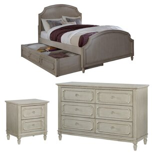 Alaina Panel Configurable Bedroom Set