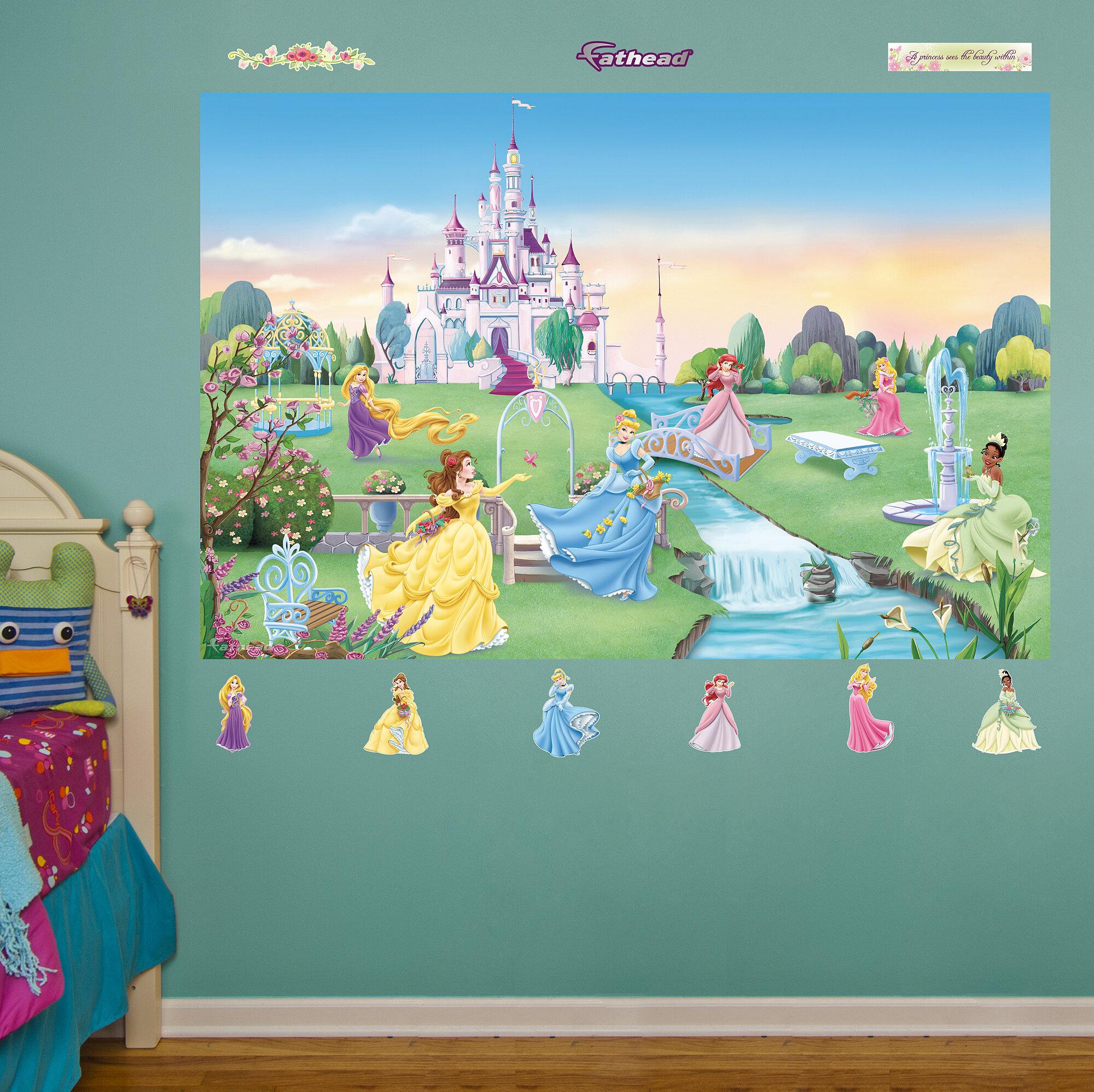 Delightful Fathead Disney Princess Wall Decal U0026 Reviews | Wayfair