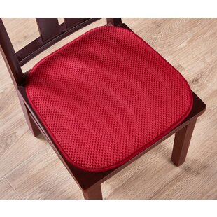 Ultra Comfort Non-Slip Indoor/Outdoor Dining Chair Cushion (Set of 2)