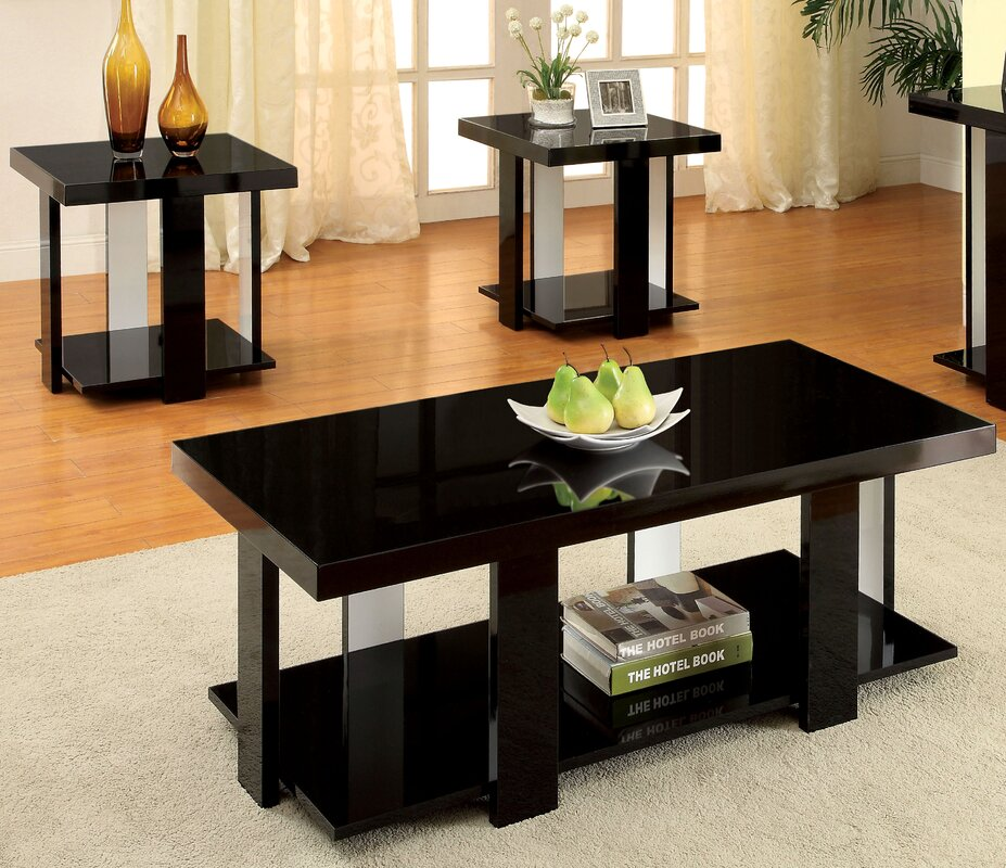 Dunlevy 3 Piece Coffee Table Set & Reviews | AllModern
