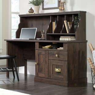 Arvilla Writing Desk with Hutch by Laurel Foundry Modern Farmhouse