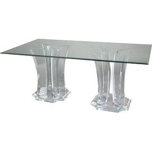 Muniz Milano Double Base Dining Table