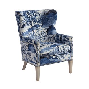 Avery Wingback Chair by Ba..