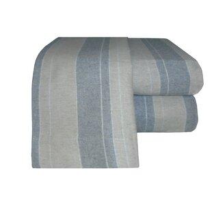 Flannel Stripe Sheet Set