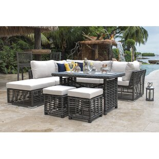 7 Piece Sectional Seating Group with Cushions