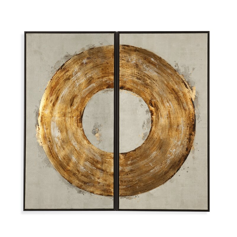 Thoroughly modern ring of fire painting print on canvas