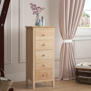Trixie 5 Drawer Lingerie Chest by Andover Mills